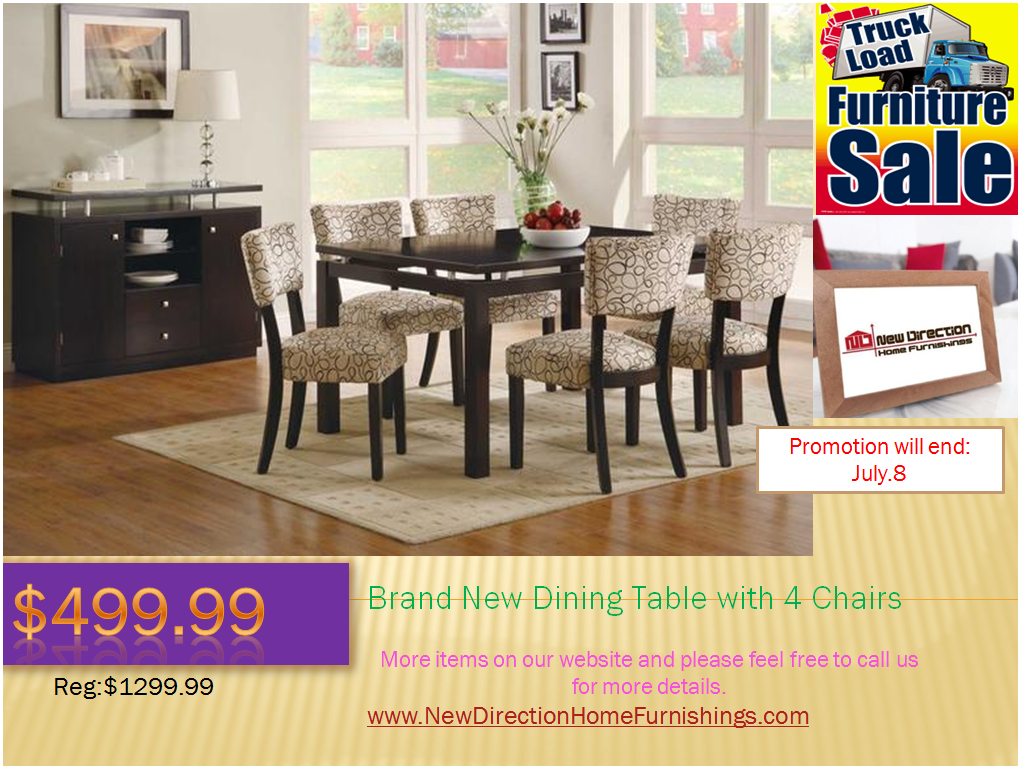 Edmonton dining room furniture